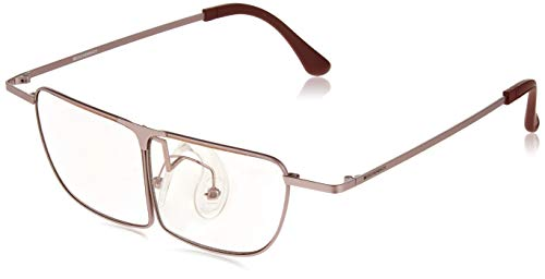 ESCHENBACH メガネ型 ルーペ メガネの上から使用可能 ラボズーム ピンク 1.8倍 2998-1430