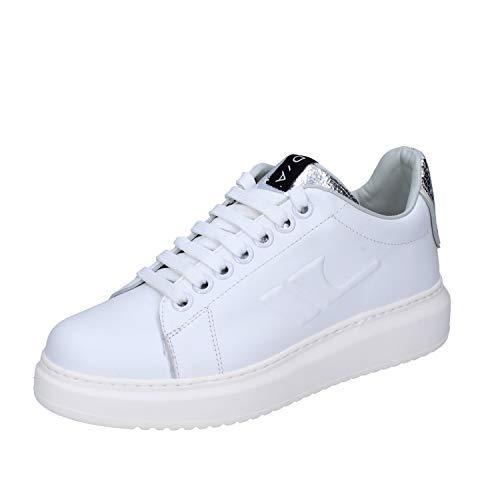 D'Acquasparta Sneaker Donna Pelle Bianco 39 EU