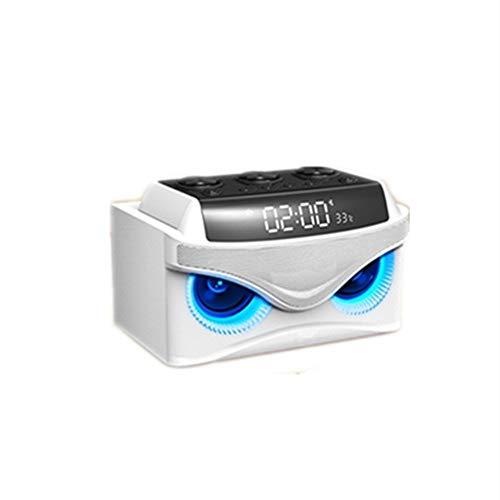 chaonong Bluetooth-Lautsprecher Bluetooth Funk-Außenlautsprecher, 175x108x118mm, Outdoor-Auto-Subwoofer, 3D-Surround-Telefon Zu Hause Kartenspieler, Radiowecker, Tragbares Audio tragbare Lautsprecher