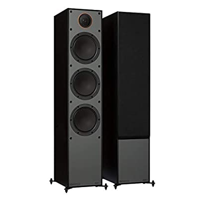 MONITOR AUDIO 300 Floorstanding Speakers, Black by Monitor Audio