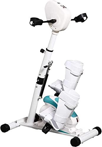 YQG Bicicleta de rehabilitación de Fisioterapia electrónica, Bicicleta de Ejercicios estacionaria, máquina de Ejercicios cardiovasculares para Brazos y piernas, Carrera para discapacitados, Modo
