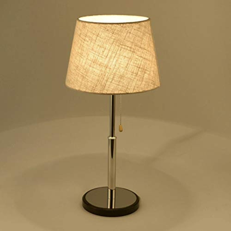 Moderne kreative schreibtischlampe nachttischlampen schlafzimmer wohnzimmer esszimmer studie einfache nachttischlampe zhler beleuchtung stoff leuchte lampe (UnitCount   1-piece)
