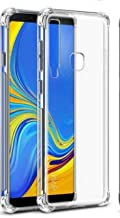 Jaorty for Samsung A9 2018/A9 Star Pro Case,Crystal Clear Reinforced Corners TPU Bumper Cushion Anti-Scratch Hybrid Rugged Transparent Back Cover Case for Samsung Galaxy A9s,Clear