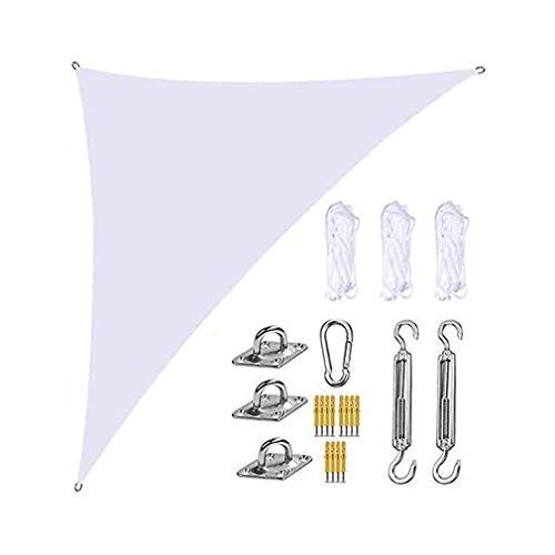 ZXSZX Toldo Vela Jardín, 3 * 4 * 5 M, Toldo Triangular De Vela, Impermeable, Bloque UV, Toldo De Jardín En Ángulo Recto para Patios Al Aire Libre,09
