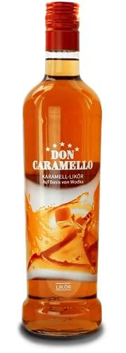 Don Caramello Vodka Karamell ~ Geschmacksnoten von feinem Karamell, Vanille & Schokolade 1x700ml