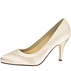 3c6f25c591a Extra wide EEE fit wedding shoes. Wide fit wedding shoes UK. Look on Amazon  for more information about the Rainbow Club Nicole – Elegant Wedding Court  Shoes ...