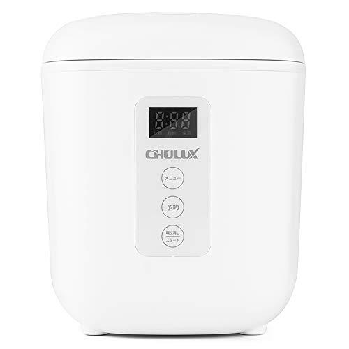 CHULUX 炊飯器 0.5~1.5合 小型 ミニ ライスクッカー ワンタッチ 簡単コンパクト 一人及び二人暮らし最適