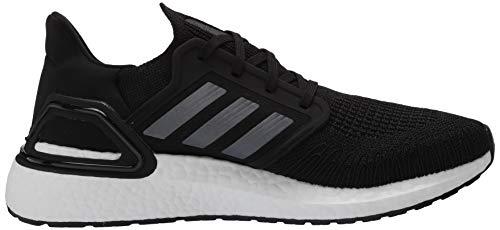 adidas Men's Ultraboost 20 Running Shoe, Black/Night Metallic/White, 10 M US 6