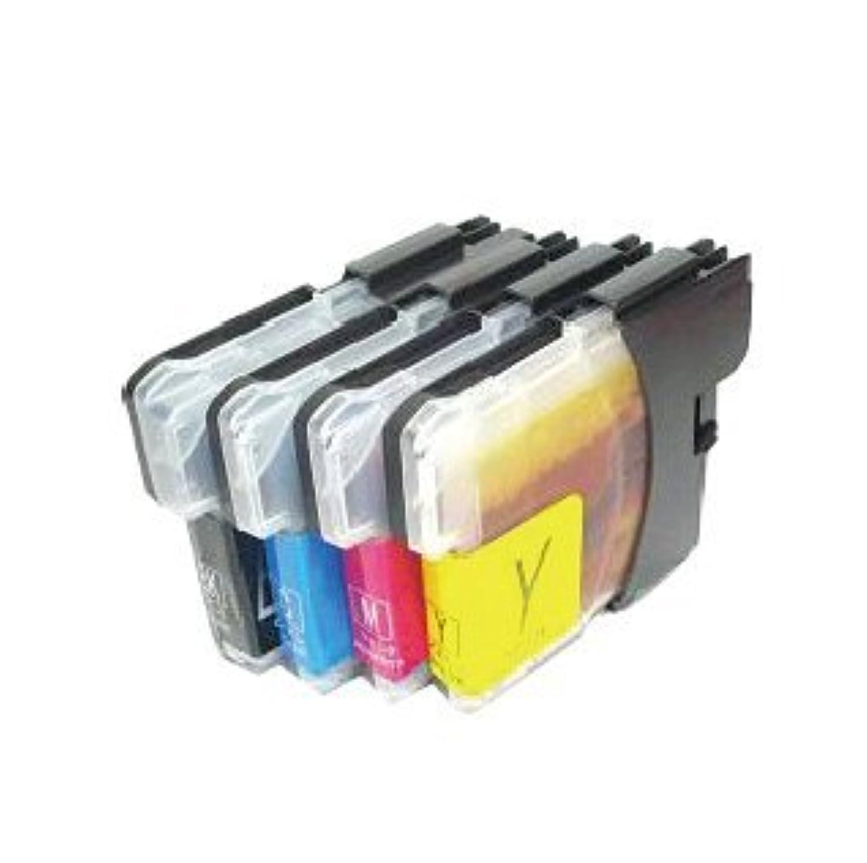 プリンター用互換インク 汎用インクカートリッジ 4色セット LC11-4P
