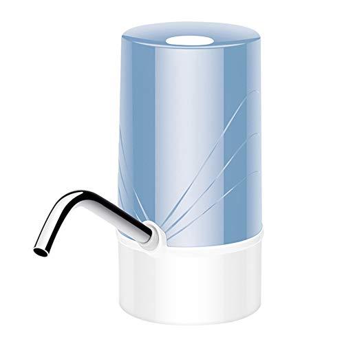 Wasserflaschen-Pumpe, Automatische Trinkwasserpumpe, Tragbarer Wasserspender,Elektrischer Wasserkrug Pumpe Für Universellen Wasserkrug Von 3–5 Liter,Blau