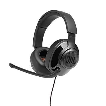 JBL Quantum 200 - Wired Over-Ear Gaming Headphones - Black Large