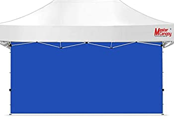 MASTERCANOPY Instant Canopy Tent Sidewall for 10x15 Pop Up Canopy 1 Piece Blue