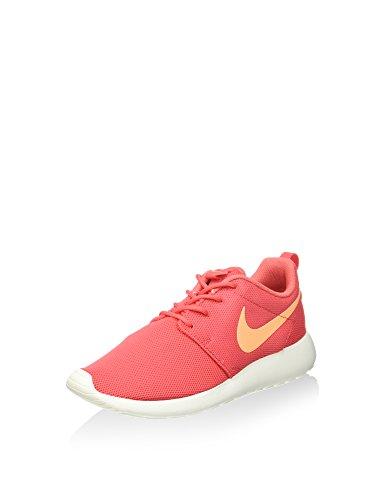 Nike Womens Roshe One Running Shoes (9.5 B(M) US)(Ember Glow/Peach Cream/Sail)