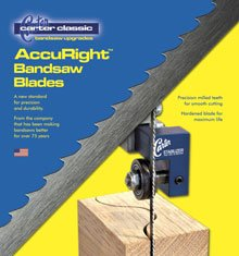 Carter ACCURIGHT 99.75 Seasonal Wrap Introduction X lowest price 3 16 TPI Blade BANDSAW 10