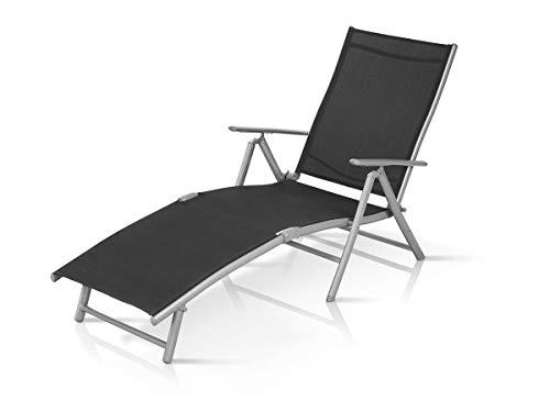 Florabest Aluminium Outdoor Garden Sun Lounger