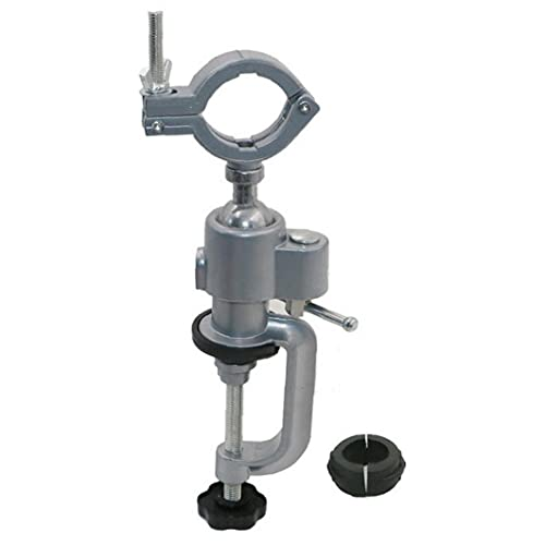 Tuimiyisou Mini Plata 360 Grados de rotación Multi-direccional de 360 ??Grados de aleación de Aluminio Taladro eléctrico Auxiliar