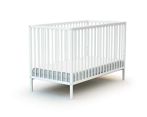Lit bébé 60x120 WEBABY Blanc