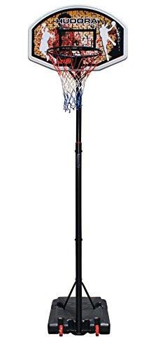 Hudora Chicago - Soporte para Canasta de Baloncesto, Color Schwarz,Orange,Rot - Talla única