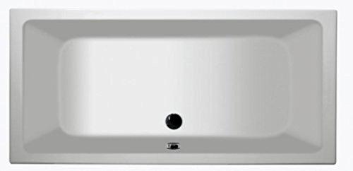 Keramag Badewanne Renova Nr. 1, 657380 180x80cm weiß(alpin) 657380000