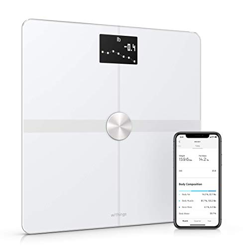 Withings Body+ - Báscula Wifi de composición corporal, Blanco