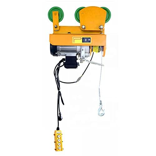 JCX Polipastos Electricos con Carritos para Vigas, Elevador Electrico Guinche Electrico Cable...