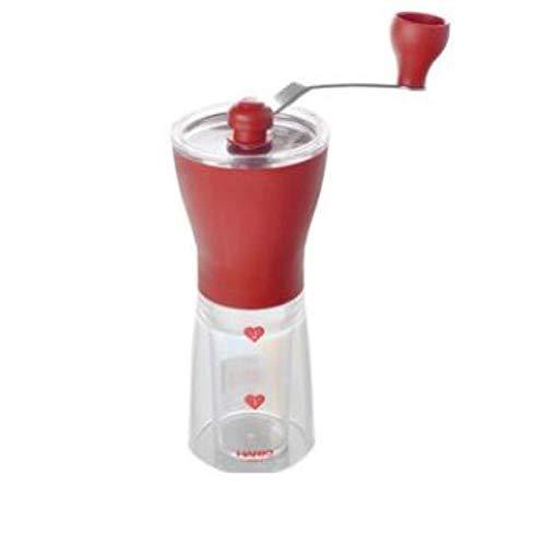 Koffiemachine Japanse draagbare poeder koffiemolen Keramiek Kernslijpen Huishoudelijk Handmatig malen Koffiebonen, rood