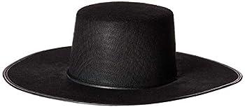 Forum Novelties Men s Costume Spanish Hat Black One Size