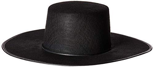 Forum Novelties Men's Costume Spanish Hat, Black, One Size