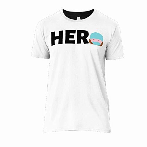 Hero Córonavirus 2020 Doctor Nurse Healthcare Worker Women Men Classic T-Shirt Design Shirts Soft Women Shirt Funny Art Tee 80S Cheap Design Customize T-Shirt