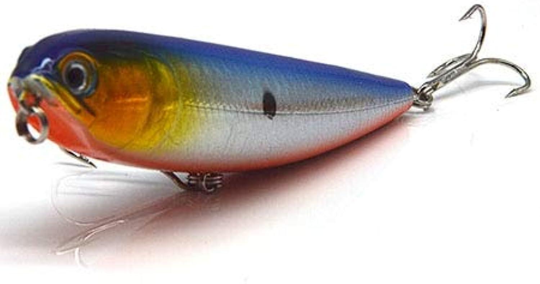 Generic Saltwater Floating Topwater Hard Pencil Fishing Lure Set Mixed Trolls Sea Tackle Fishhook 20PCS Fake Artificial Laser Baits Lot C5 20PCS