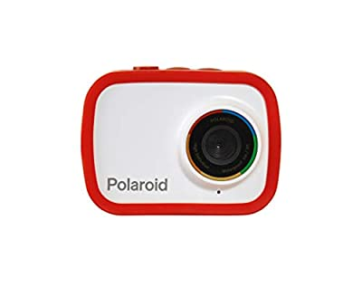 Polaroid Sport Action Camera 720p 12.1mp, Waterproof Camcorder Video Camera with Built in Rechargeable Battery and Mounting Accessories, Action Cam for Vlogging, Sports, Traveling from Sakar International Inc