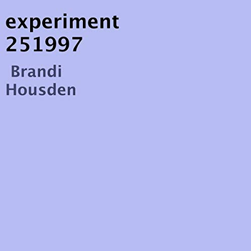 Experiment 251997 cover art