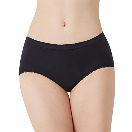 EvaWear Period Panties - 2 Pack Hipster for Teen Girls Women / Leakproof Briefs for Heavy Flow Postpartum Menstrual Underwear Various Styles