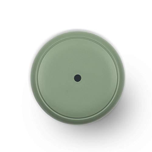 Turbionaire Puck - Difusor de aromas con 7 luces LED intercambiables, 5 W, silencioso, portátil, alimentación con USB, parada automática (Sage)