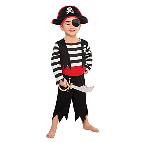 amscan Déguisement Garçon Enfant Garçon Pirate Matelot