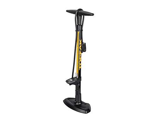 TOPEAK JoeBlow Sport Digital Fahrrad Standpumpe gelb/schwarz