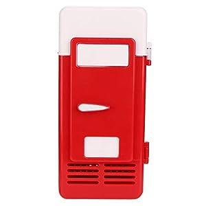 Yosoo Health Gear Réfrigérateur Compact léger, Petit réfrigérateur, Voiture pour Bureau(Red)