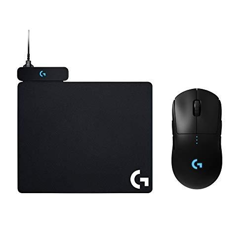 【POWERPLAYセット】Logicool G ゲーミングマウスパッド POWERPLAY、PROワイヤレスマウス G-PPD-002WLr 国内正規品