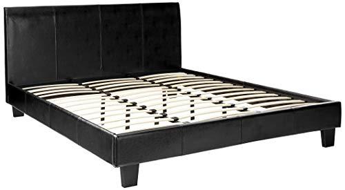 247SHOPATHOME Platform Beds, California King, Espresso