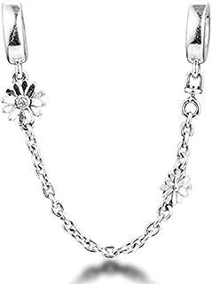 HMMJ 2020 - Security Chain A Form Of Margherita, 925 Silver DIY, Fit For Pandora Bracelets Originals