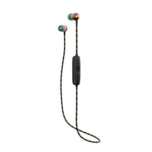 House of Marley Smile Jamaika Wireless 2 In-Ear-Kopfhörer - Geräuschisolierende Bluetooth-Kopfhörer, 9 Stunden Spielzeit, Schnellladegerät, IPX-4 wasserdicht, Mikrofon, FSC-zertifiziertes Holz -Copper