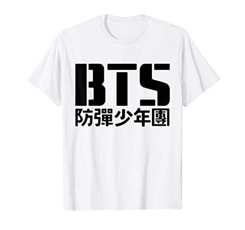 BTS Official Bangtan Boys Merchandise BTS08 Camiseta