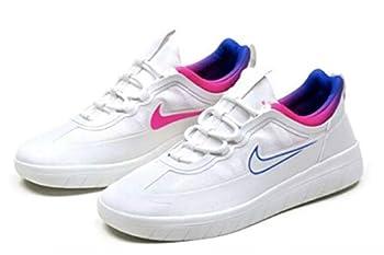 Nike Nyjah Free 2 Sneakers Summit White/Pink Blast/Pink Blast/Racer Blue 4