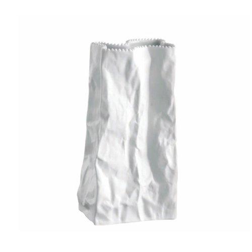 Rosenthal - Tütenvase Vase Höhe 22 cm Weiss glasiert