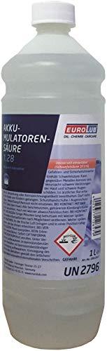 EUROLUB Säure für Batterie (Akkumulatorensäure), 1 Liter