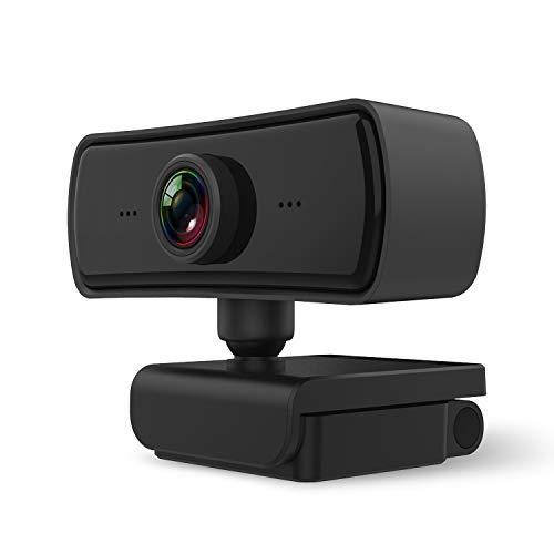 [2020最新]ARTZR 400万画素 30FPS 広角 HD高画質 Webカメラ 内蔵マイク USBカメラ ノイズ対策 自動光補正 動画配信 ゲーム実況 ビデオ会議 オンライン授業 家庭ビデオ通話 Windows XP/7/8/10/ 2000/Mac OS X/Android TV対応 1年間メーカー保証