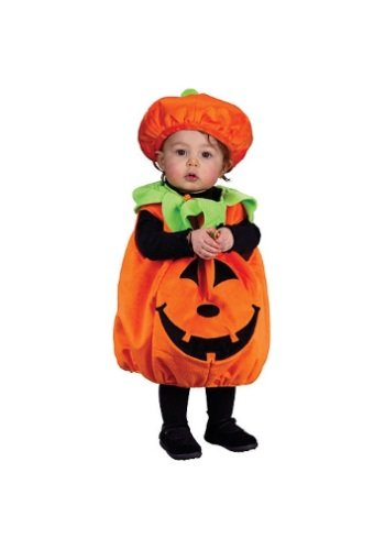 Infant Pumpkin Fancy dress costume Standard (up to 24 months)
