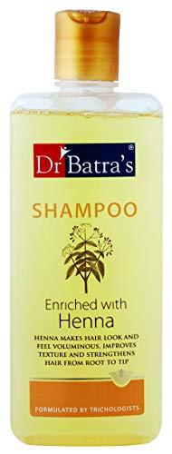 Shampooing Enrichi du Dr Batra au henné améliore la texture et renforce 200ml