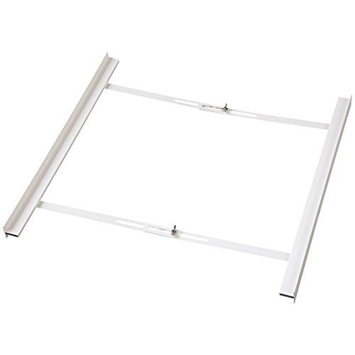 Xavax 7111379 - Kit de apilamiento para lavadora, blanco, 62 x 9 x 6,5 cm