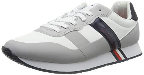Tommy Hilfiger heren City Modern Materiaalmix Runner Sneakers